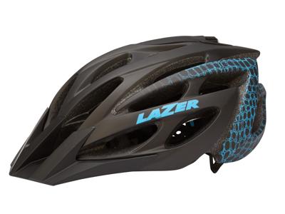 Lazer - Cykelhjelm - Jane - Sort/turkis