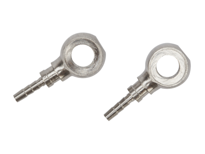 Atredo - Hydraulisk kabelkontakt for Shimano / Formula skivebremse - Rustfritt stål - 2 stk
