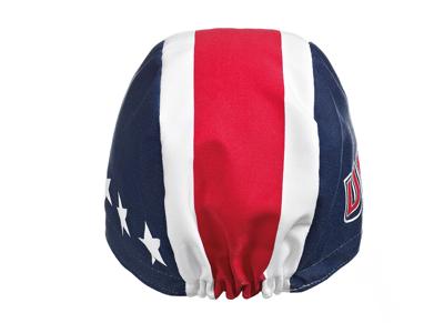Assos USA Cap - Kasket - Blå/hvid/rød