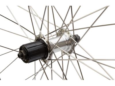 Cykelhjul bag 700c city ZAC2000 sort