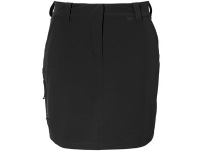 Didriksons Liv Womens Skirt 2 - Dame nederdel - Sort
