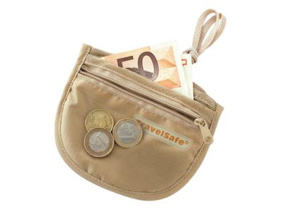 TravelSafe ID Pocket - Sikkerhedslomme - Sandfarvet