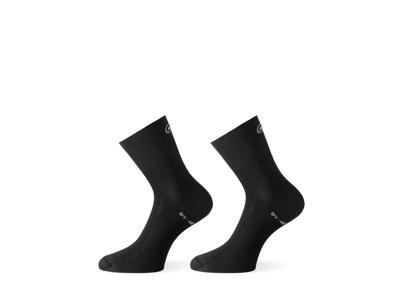 Assos Mille GT Sock - Cykelstrumpa - Svart