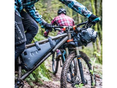 Ortlieb Frame-Pack - Bike Packing Ramväska - Str. L - 6 Liter - Grå/Svart