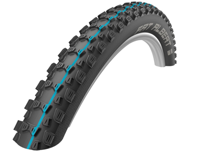 Schwalbe Fat Albert Bag - Addix Speed Evolution Line - TL-Easy Foldedæk - 27,5x2,35