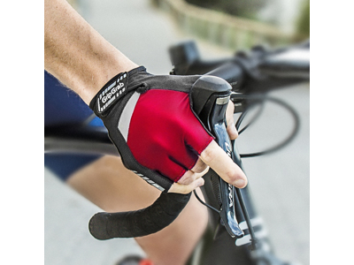 GripGrab SuperGel 1005 - Cykelhandske kort - Rød