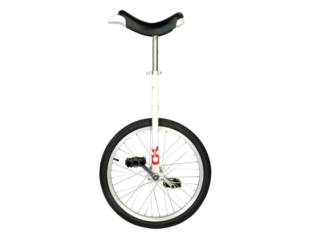 "Ethjulet cykel 20"" hjul Hvid thumbnail"