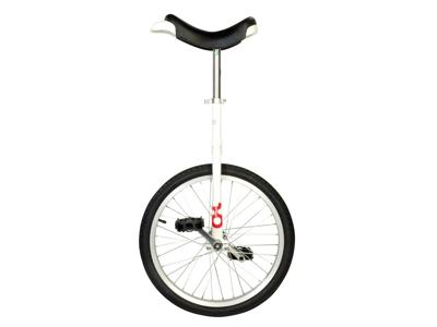 """Enhjuling - 20"""" hjul - Vit"""