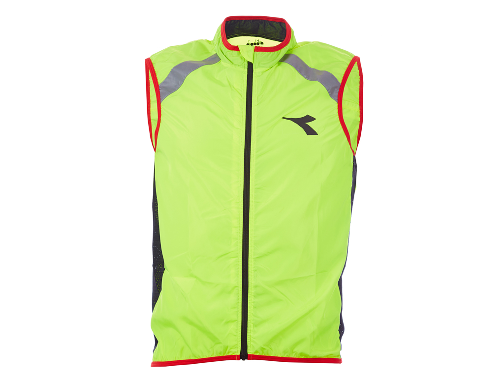 Image of   Diadora - Cykel Vest Padova - Str. XL - Yellow fluo