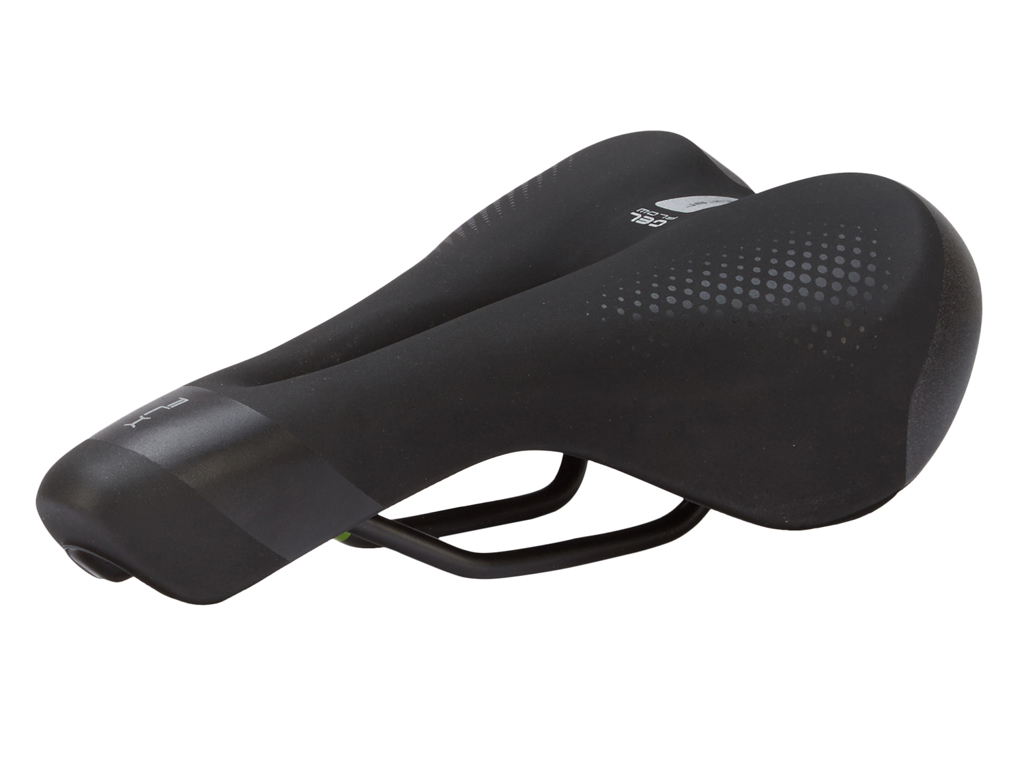 Selle Italia FLX Man Gel Flow - Sadel - Sportourer - Sort