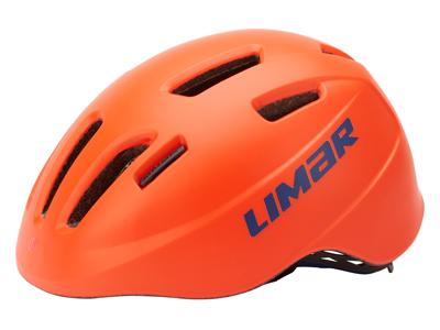Limar 249 - Cykelhjelm til børn - Str. 50-56 cm - Matrød