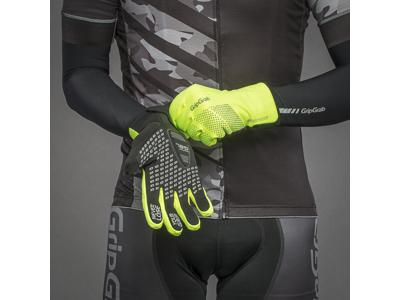GripGrab Ride Waterproof Hi-Vis Winter 1069 - Cykelhandske - Neon Gul