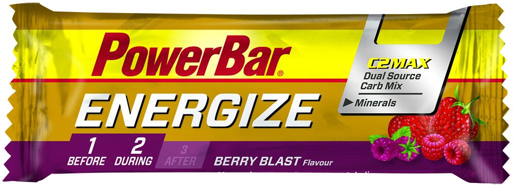 Powerbar Energize - Bær 55 gram   Energy bar