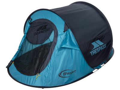 Trespass Swift 2 - Pop-up telt - 2 personer - Turquise