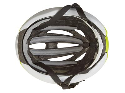 Giro Syntax - Cykelhjälm - Citron / Vit