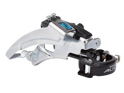 Shimano Altus - Forskifter 3 x 7 eller 3 x 8 gear til sadelrørs montering - 66-69