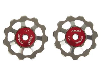 BBB pulleyhjul 11 tands med keramiske lejer - Alu boys 2 stk