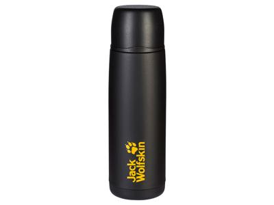 Jack Wolfskin - Termoflaske Grip - 0,9 liter - Sort