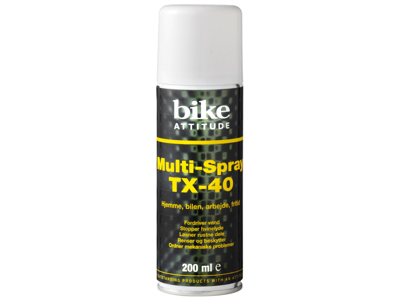 Bike Attitude - Multispray - TX-40 - 200 ml - Universal smøremiddel