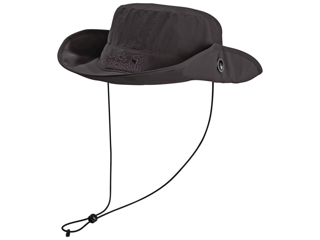 Jack Wolfskin Supplex Mesh Hat - Unisex Str. M - Dark steel thumbnail
