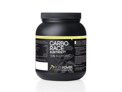 PurePower Carbo Race - Elektrolyt energidrik - Hyldeblomst - 1,5 kg
