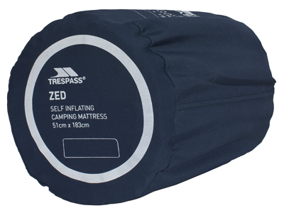 Trespass Zed - Selvoppusteligt liggeundlag - 183 x 51 cm - Blå