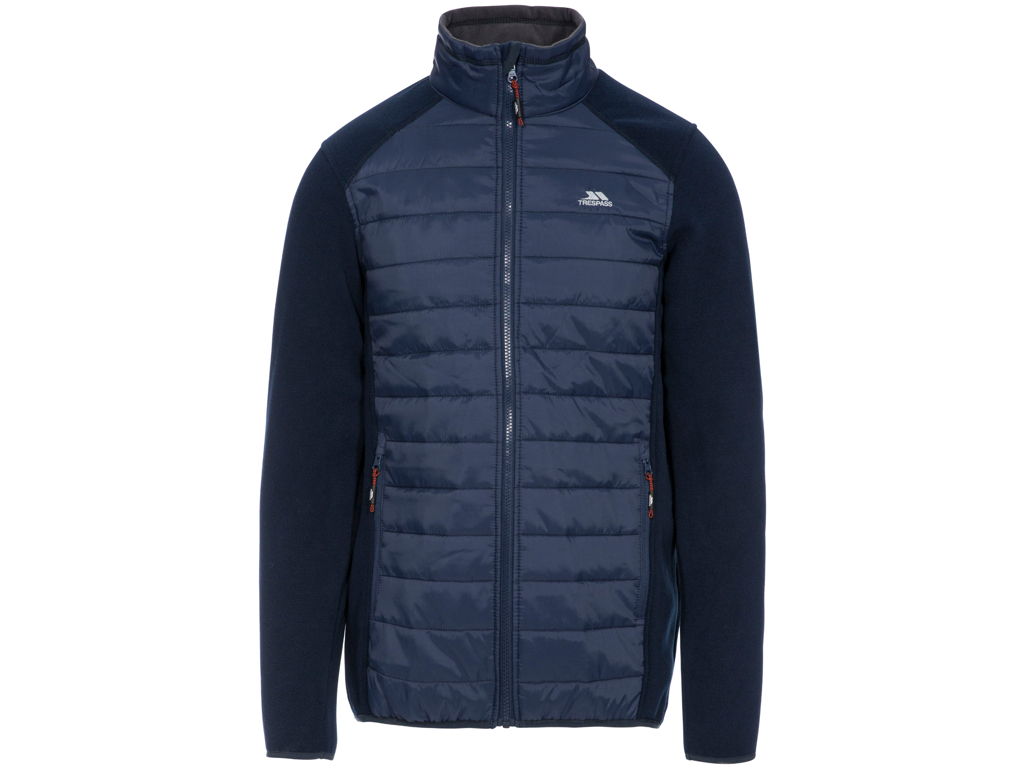 Trespass Saunter - Full Zip Fleece jakke - Navy blå thumbnail