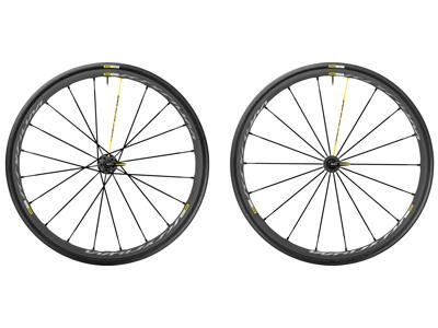 Mavic Ksyrium Pro Exalith - Hjulsæt inkl. dæk - Sort - Sram/Shimano - 700x25c