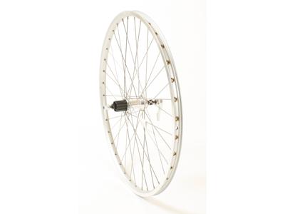 Connect MTB baghjul - 26 x 1.75 - 7 gear - Ryde ZAC 19  fælg - Sølv