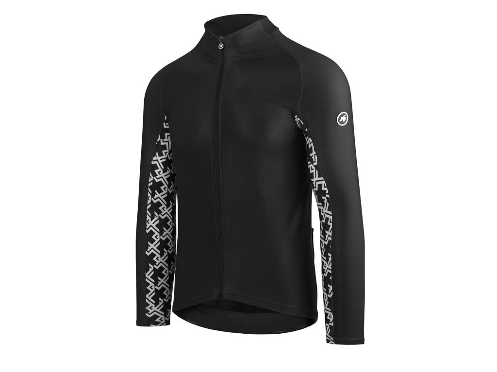 Assos Mille GT Spring Fall LS Jersey - Cykeltrøje m. lange ærmer - Sort