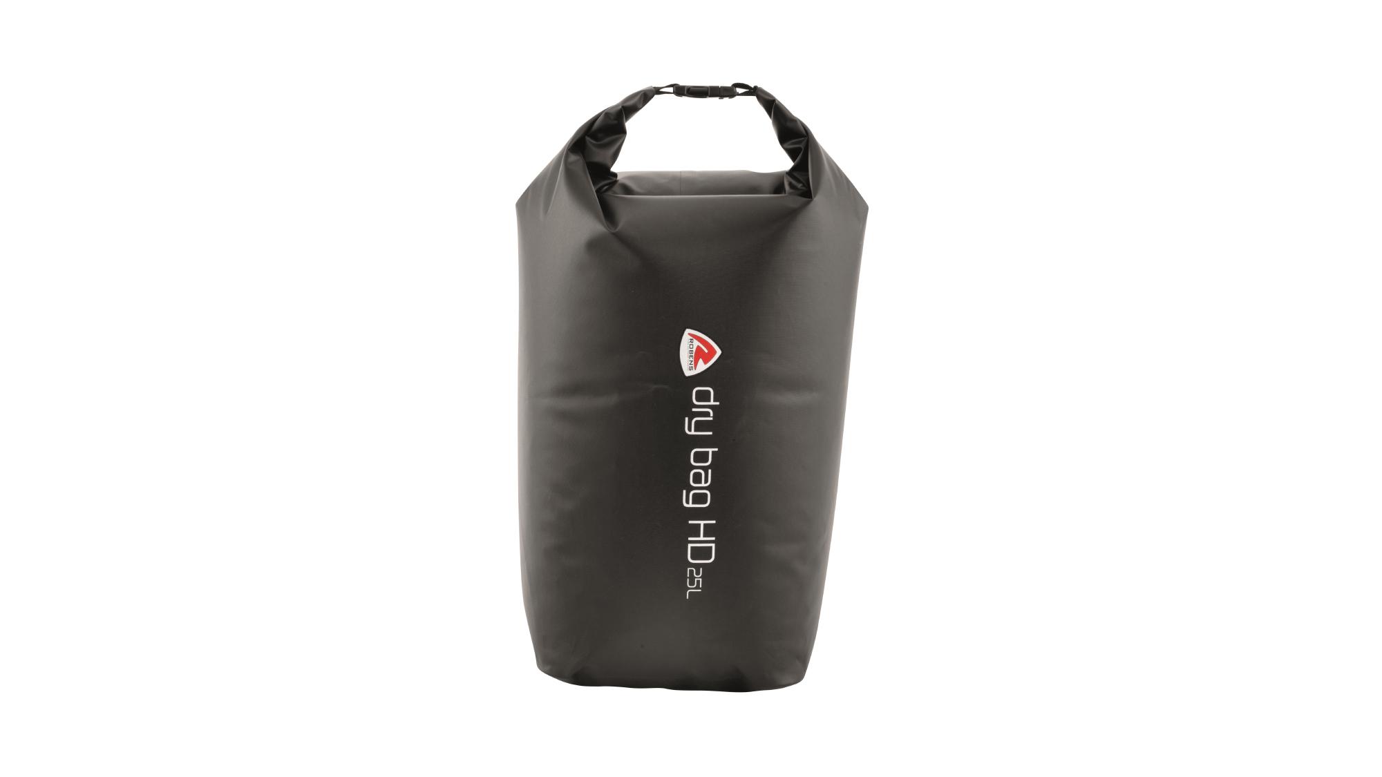 Robens - Vandtæt dry bag - 25 liter - Sort   Travel bags