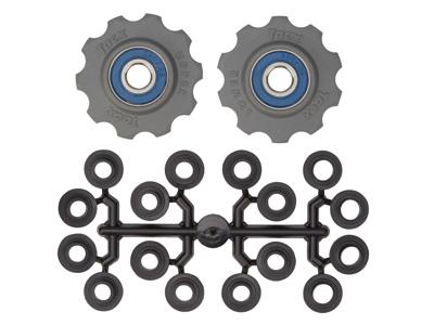 Tacx pulleyhjul med 10 tænder - Grå - Rustfrit stål