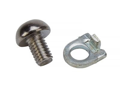 Wire bolt med vinkelskive 6 mm