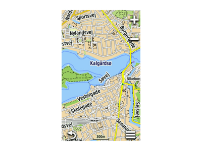 Topografiskkort Danmark Garmin v4 Pro MicroSD kort