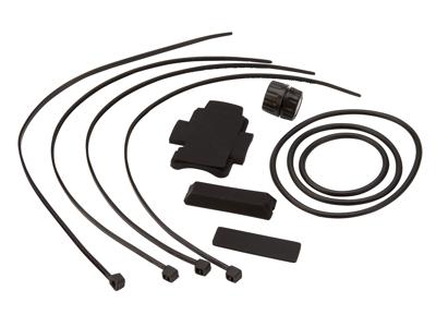 Atredo - Monteringssæt til cykelcomputer - Magnet - Gummimuffer og bånd - Med magnet