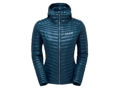 Montane Womens Phoenix Flight Jacket - Fiberjacka - Kvinnor - Blå