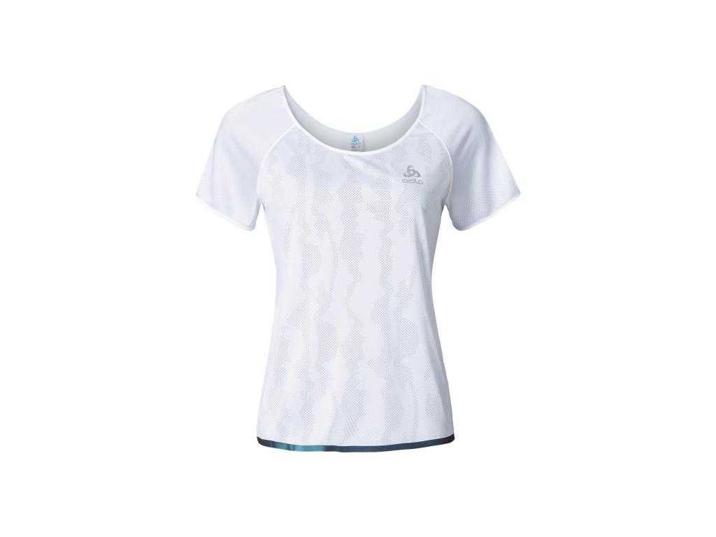 Image of   Odlo - Yotta - Løbe t-shirt - Dame - Hvid - Str. L