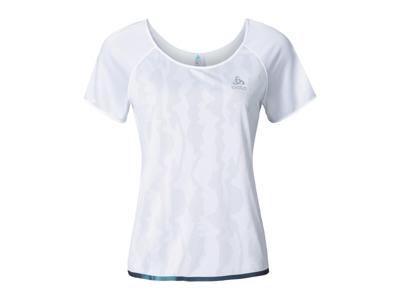 Odlo Yotta - Løbe t-shirt - Dame - Hvid