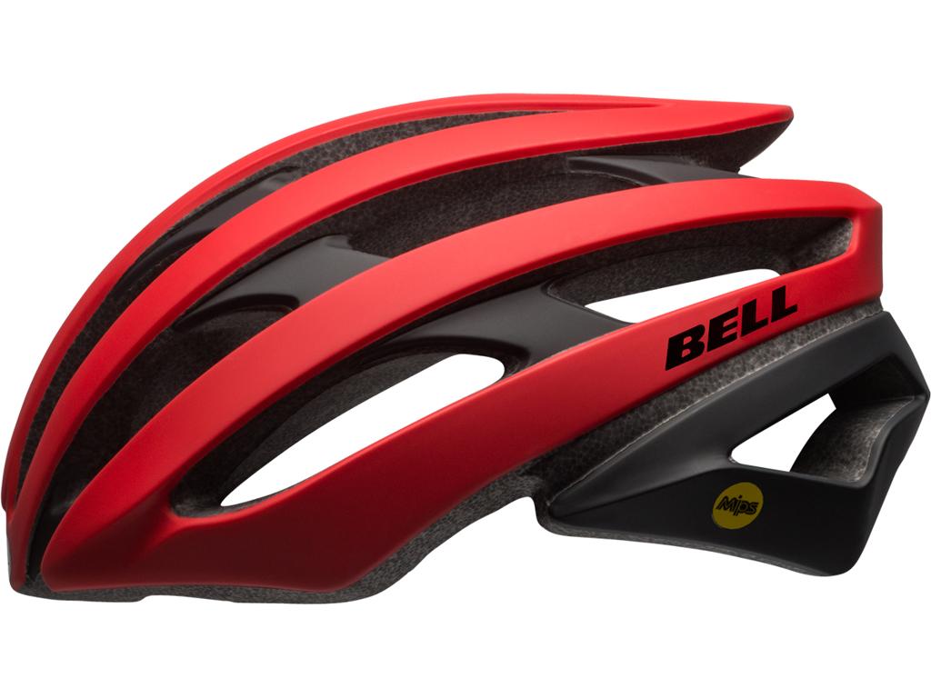 Bell Stratus Mips - Cykelhjelm - Str. 55-59 cm - Mat Rød/Sort thumbnail