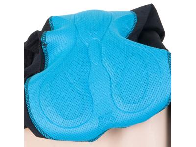 Cykelbukser/Nederdel med pude - Sensor Luna Skirt til damer - Sort