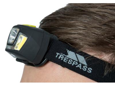 Trespass Blackout - Pandelampe - 250 lumen LED - Sort