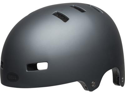 Bell Local - Cykel- og Skaterhjelm - Mat Titanium/Sort refleks