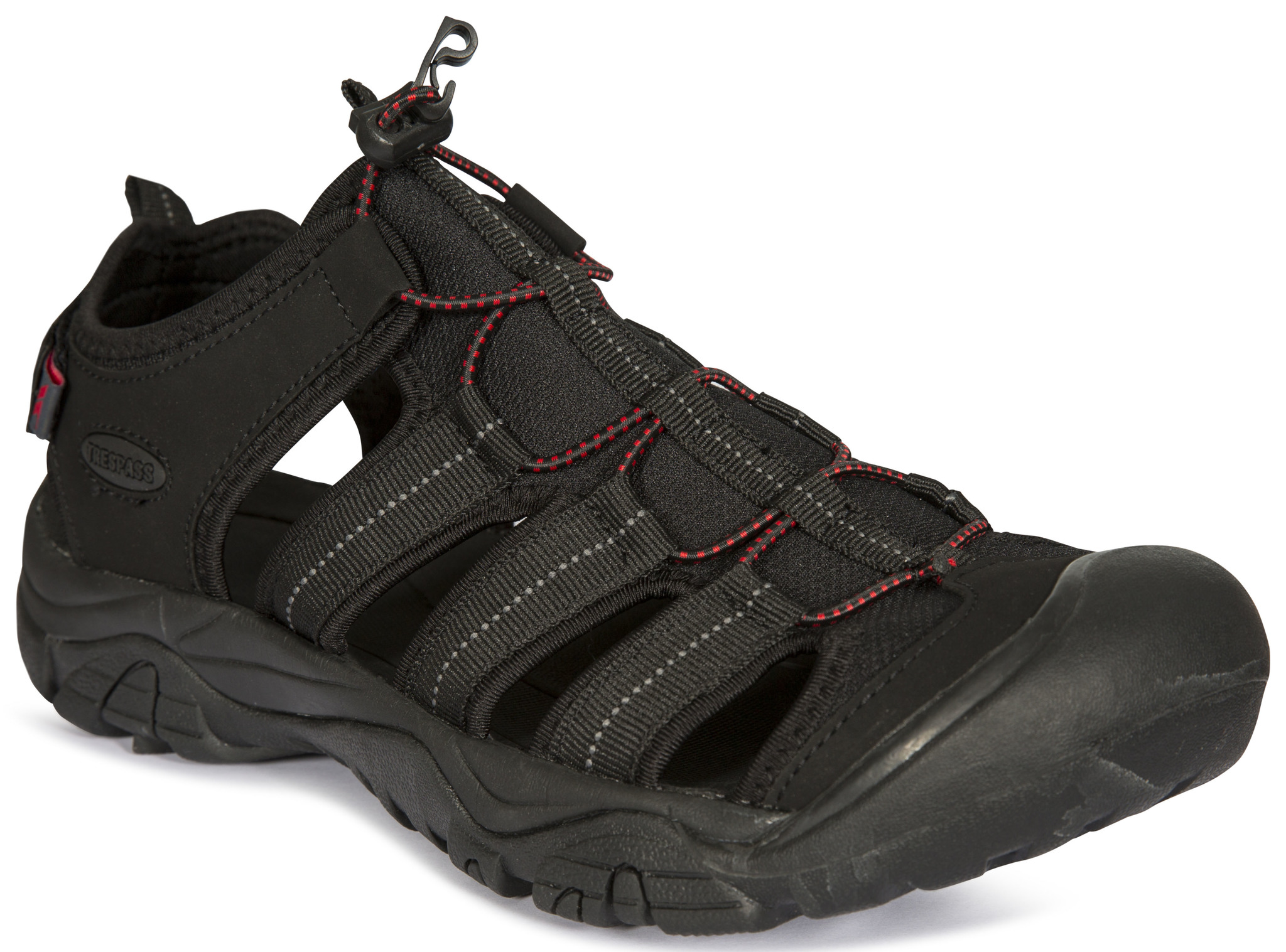 Trespass Torrance - Vandre sandal - Sort | Running shoes