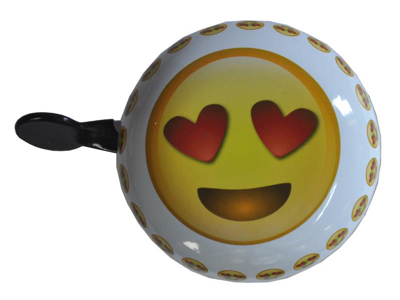 Emoticon heart - Ringeklokke - Forelsket smiley