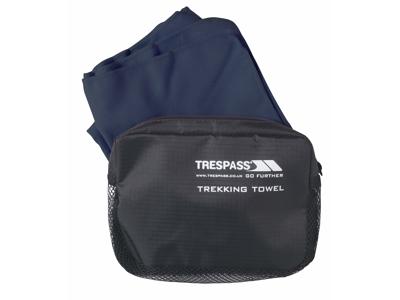 Trespass Soaked - Hurtigtørrende mikrofiber håndklæde - Blå - 45 x 90 cm.