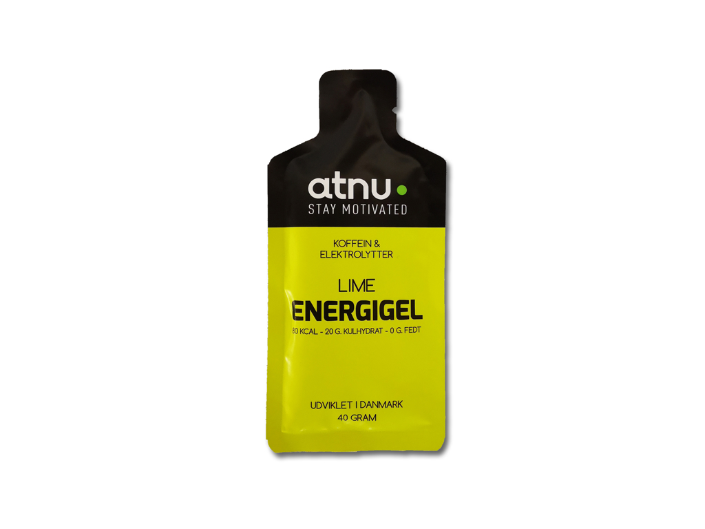 Image of Atnu Energigel - Lime med coffein - 40 gram