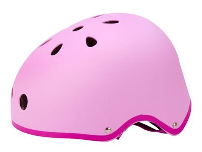 Micro Mini Cykelhjelm - Pink - Str. 53-58cm - Skater med hård skal