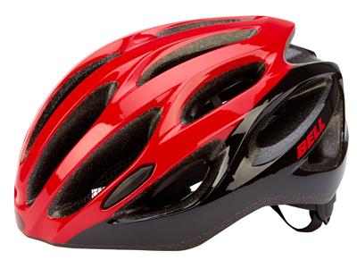 Bell Draft cykelhjelm  - Str. 54-61 cm - Rød/sort