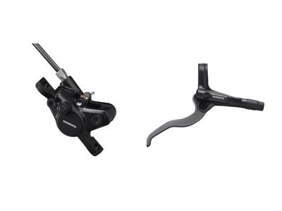 Shimano Bremsesæt - MT400 Sort - Hydraulisk komplet til bag