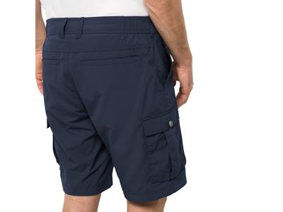 Jack Wolfskin Canyon Cargo Shorts - Herre - Mørkeblå